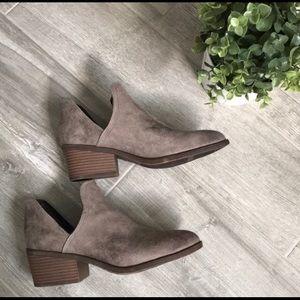 Fergalicious Westin Side Slit Ankle Booties